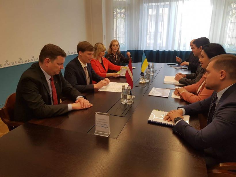 В Украине возобновит работу офис Агентства инвестиций и развития Латвии