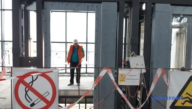 В Запорожье почти завершили строительство нового терминала аэропорта