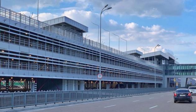 «Всего» семь лет - и современный паркинг в Борисполе готов!