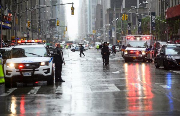 Падение Вертолета в Нью-Йорке
