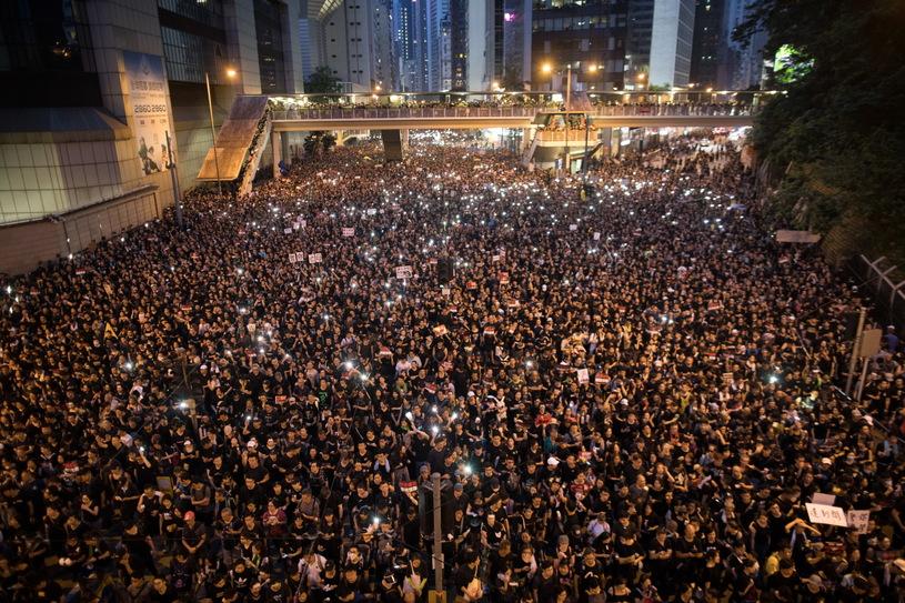 Страйк в Гонконге, Фото: AP