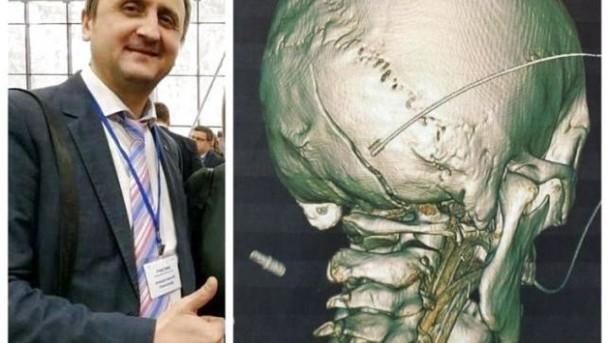 Травма Александра Комарницкого