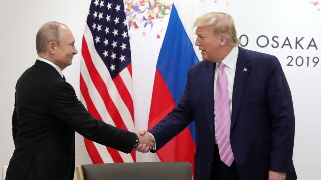 Встреча Путина и Трампа в Осаке, Фото: CNN