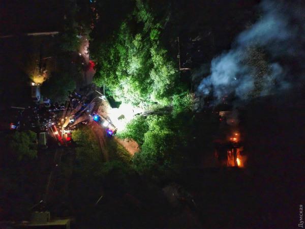 Пожар в больнице Одессы