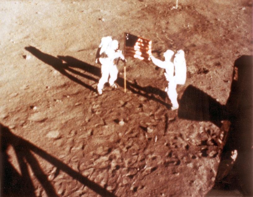 Высадка на луну, Фото: NASA