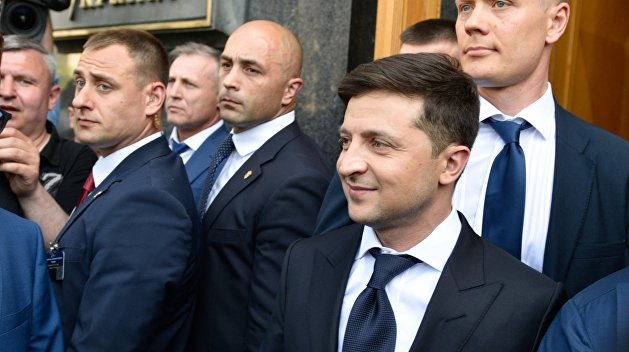 Команда Владимира Зеленского, Фото: Украина.ру