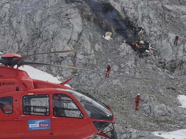 Катастрофа самолета в Австрии, Фото: PAP