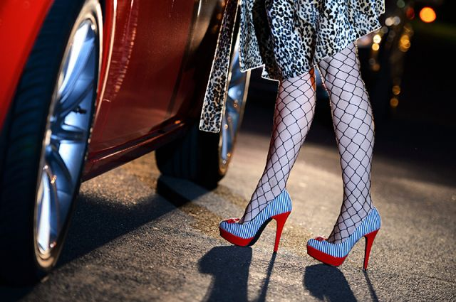Девушка легкого поведения, Фото: globallookpress.com