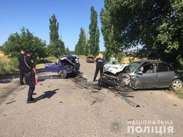 Смертельная авария в Николаевской области, Фото: Нацполиция