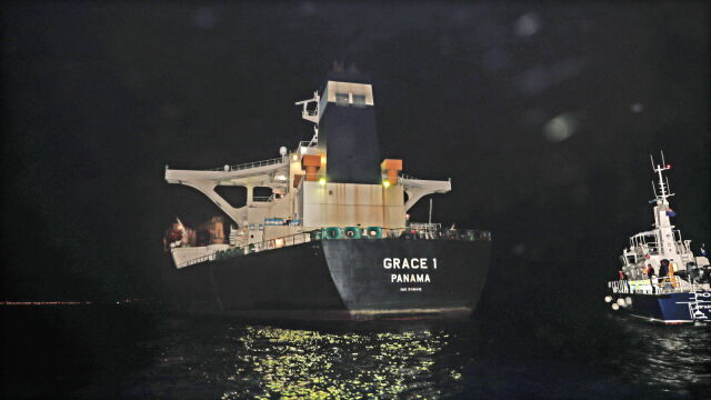Иранский танкер, Фото: TVN
