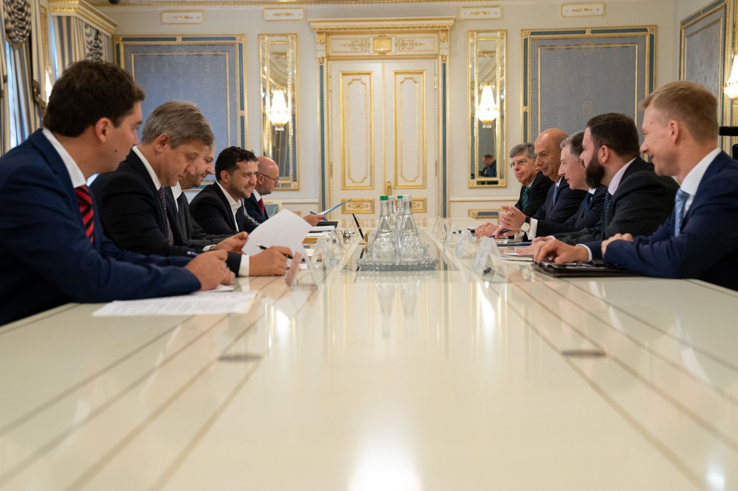 Встреча Зеленского и Волкера, Фото: president.gov.ua