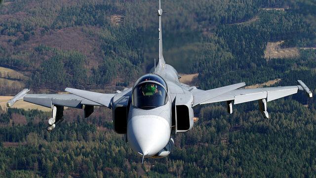 JAS-39, Фото: TVN