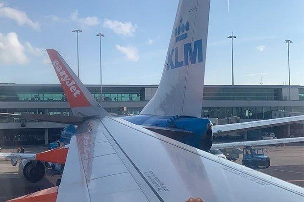 Инцидент в аэропорту Амстердама