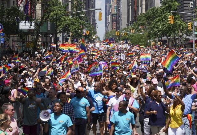 ЛГБТ парад в Нью-Йорке, Фото: AFP