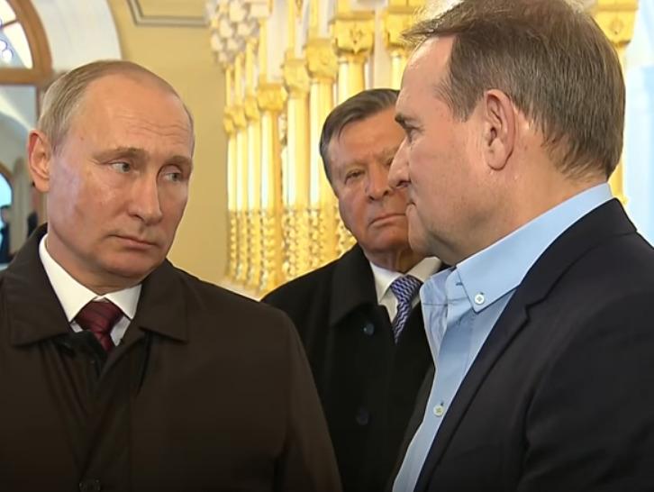 Виктор Медведчук и Владимир Путин, Фото: Цензор