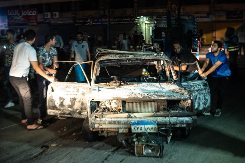 Взрыв в Каире, Фото TN