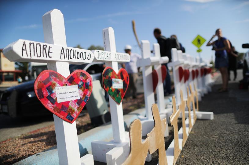 Жертвы стрельбы в Техасе, Фото: AFN