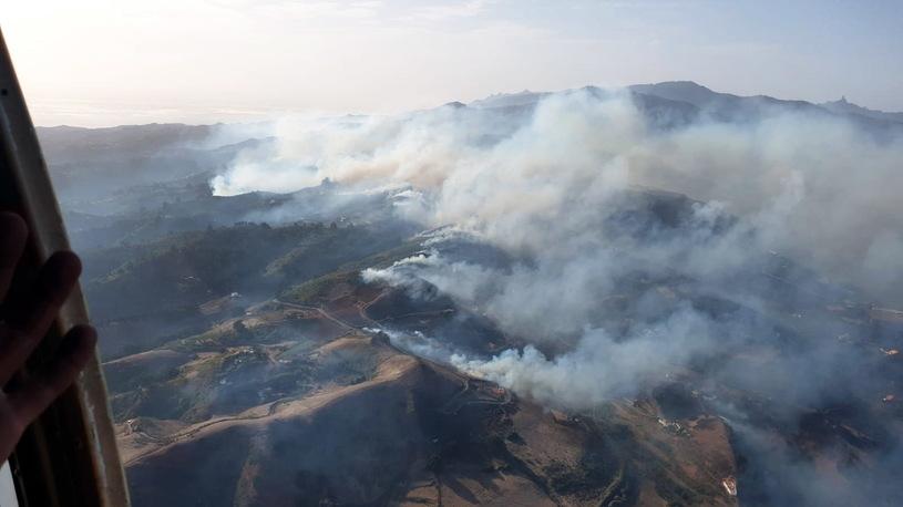 Пожары на Гран-Канарии, Фото: AFP