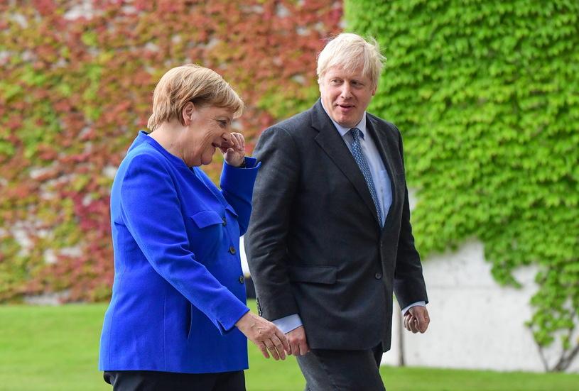 Джонсон и Меркель, Фото: AFP