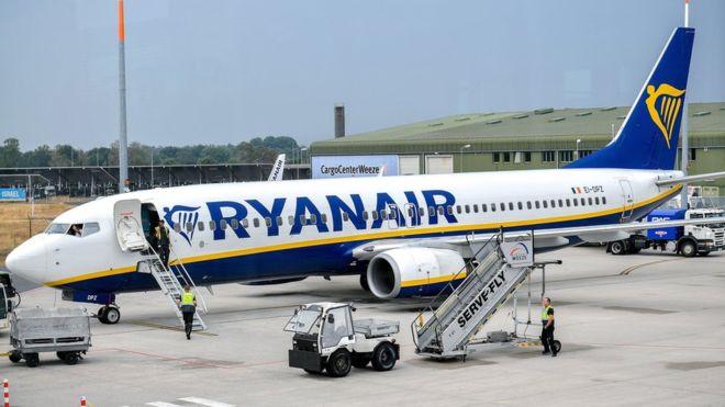 Ryanair, Фото: BBC