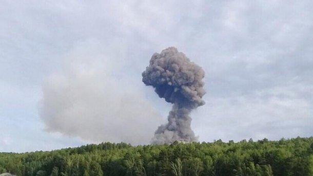 Взрыв на складе в России, 24 Канал