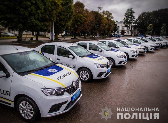 Новые автомобили для полиции, Фото: Нацполиция