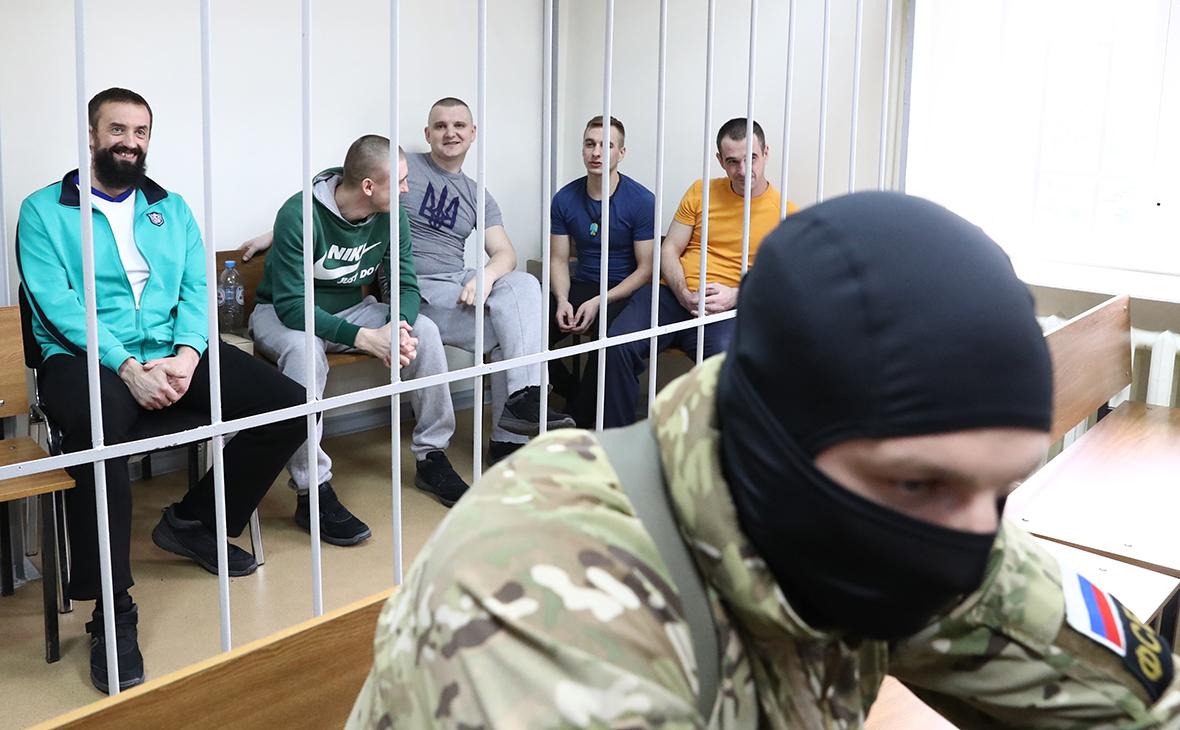 Задержанные украинские моряки, Фото: ТАСС