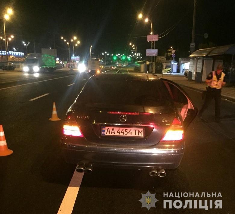 Жуткое ДТП в Киеве, Фото: Нац Полиция