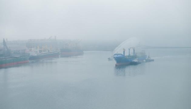 В Украине впервые запустили регулярный морской трансшипмент
