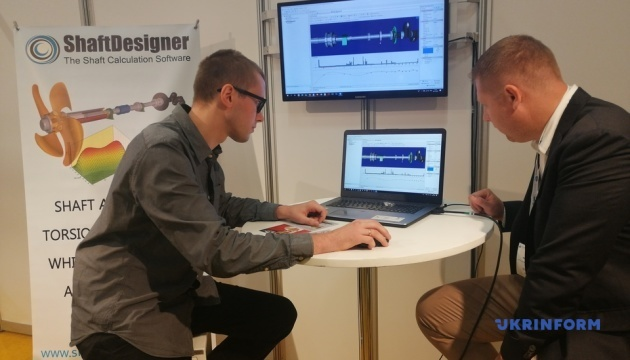 Украина презентовала технические новации на выставке судостроения в Роттердаме