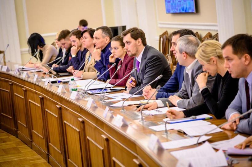 """Гончарук анонсировал с 1 марта старт программы """"Большое строительство"""""""
