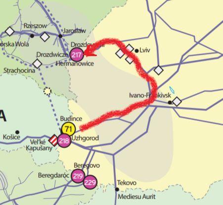 """Польша протестировала """"короткий транзит"""" газа через Украину"""