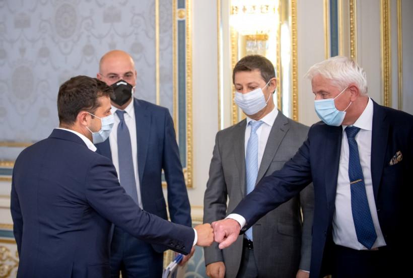 Президент - инвесторам: Мы всегда поддерживаем проекты, повышающие имидж Украины