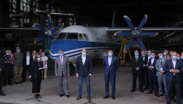 Уруский должен подготовить план развития Харьковского авиапредприятия