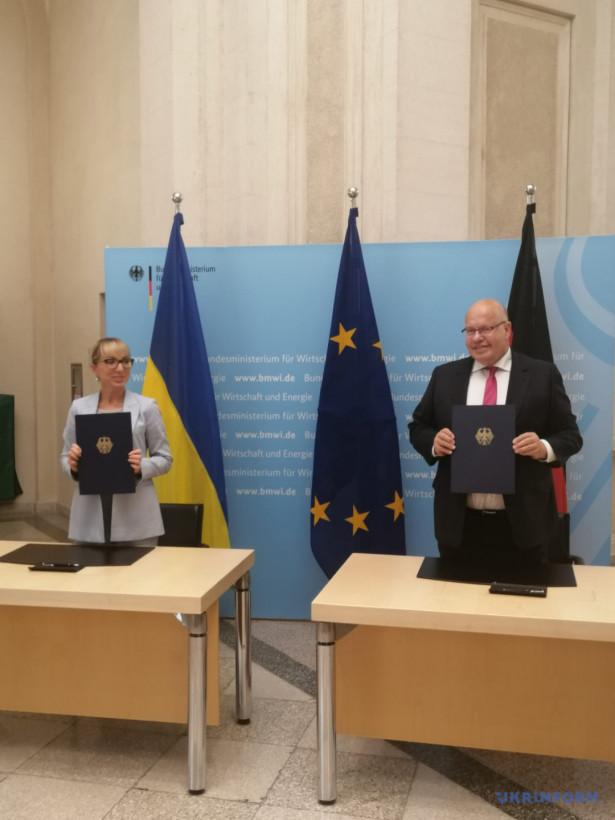 Украина и Германия подписали заявление об энергетическом партнерстве