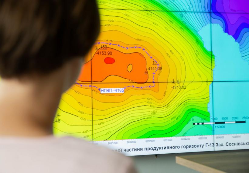 Нафтогаз запустил центр 3D-моделирования и визуализации месторождений
