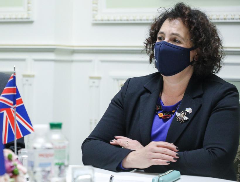 Шмыгаль пригласил делегацию британского бизнеса в Украину
