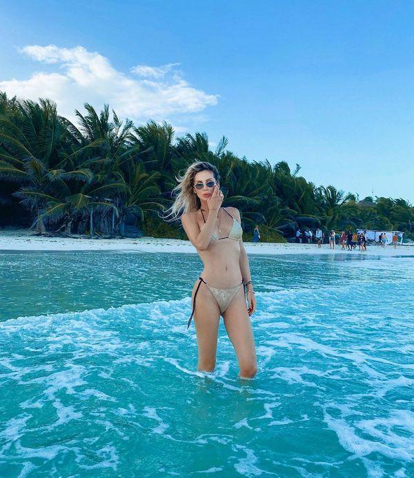Лобода показала фигуру в бикини во время отдыха в Мексике (ФОТО)