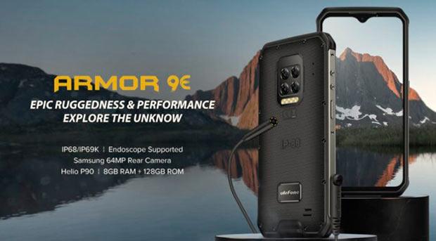 Ulefone представила «неубиваемый» смартфон Armor 9e (ФОТО)