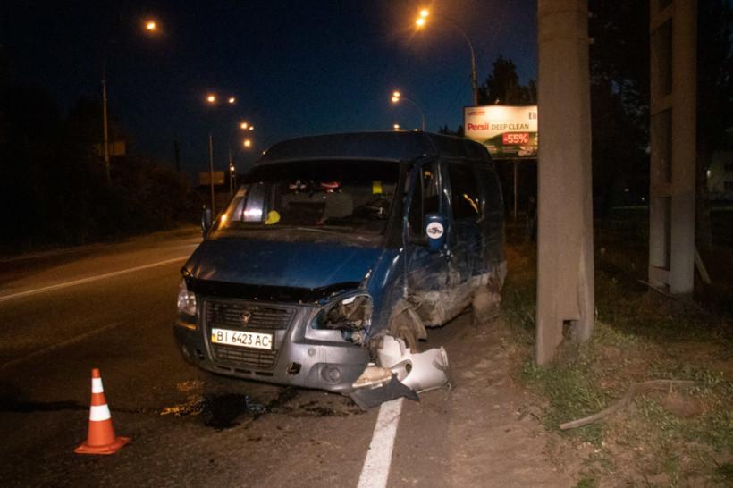 На окраине Киева произошло двойное ДТП при участии пьяного водителя Fiat (ФОТО, ВИДЕО)