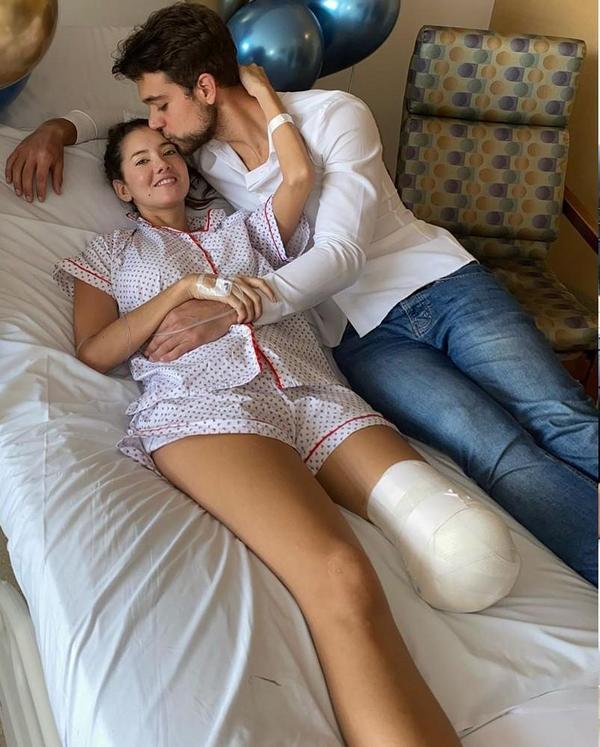 Бывшая «Мисс Колумбия» потеряла ногу (ФОТО)
