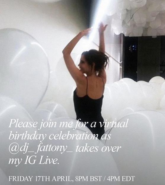 Виктория Бекхэм пригласила весь мир на свой день рождения (ФОТО)