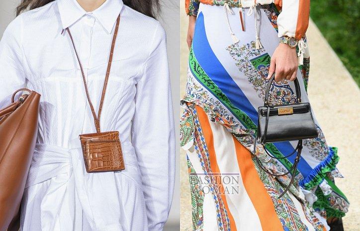 «Брендовые клатчи»: с модными мини-сумками ходят на работу и едут в отпуск (ФОТО)