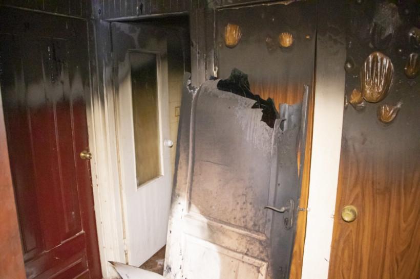 Житель Киева поджег квартиру с соседом внутри и сбежал (ФОТО, ВИДЕО)
