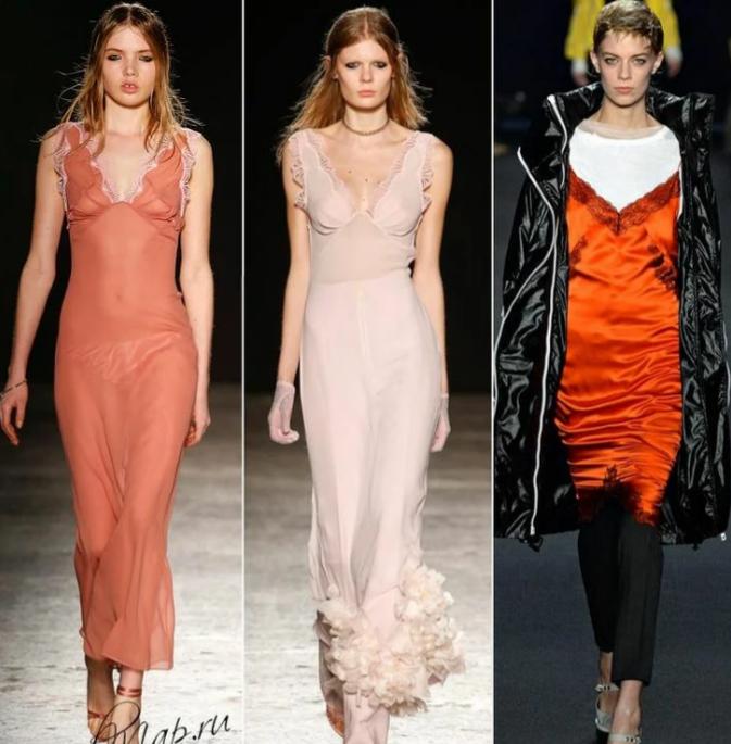Кожаные платья, юбки в пол, классические принты: стилисты показали модную одежду для осени (ФОТО)