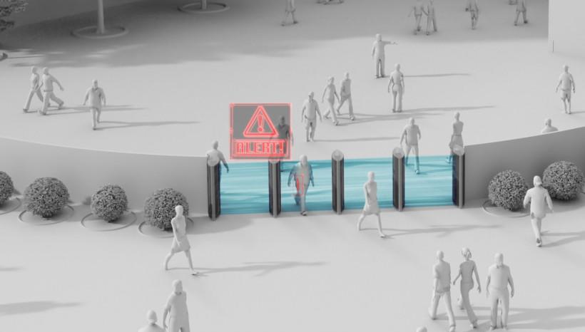 Искусственный интеллект будет дистанционно обыскивать болельщиков на стадионе мюнхенской «Баварии» (ФОТО)