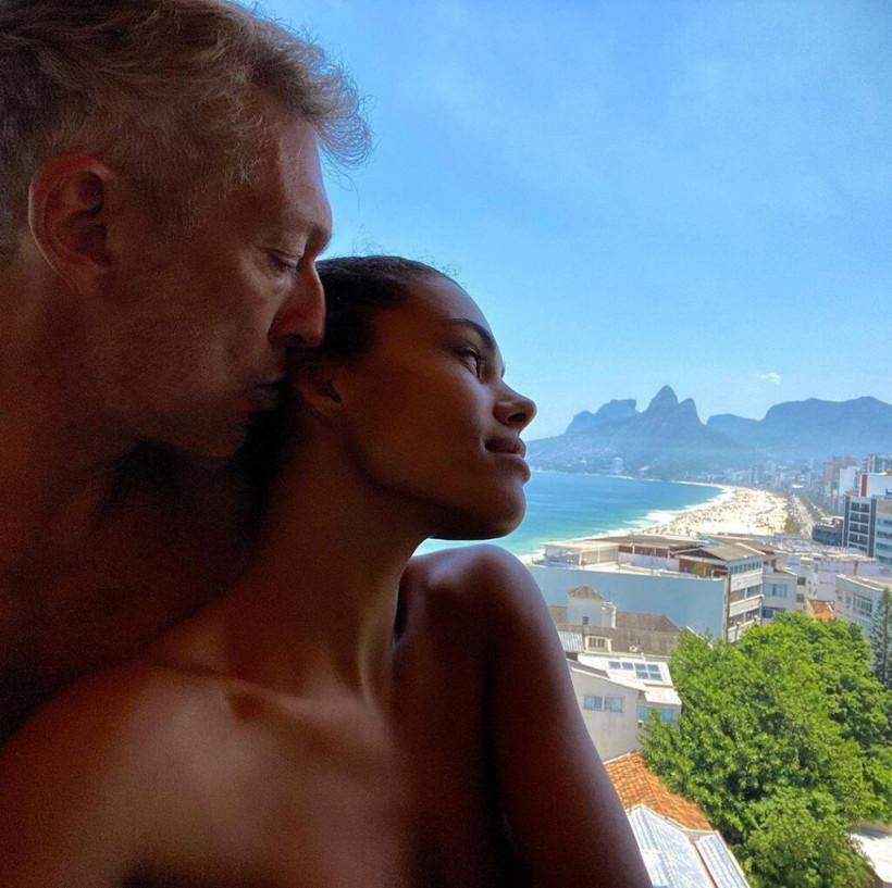 53-летний Венсан Кассель выложил интимный снимок с молодой супругой (ФОТО)