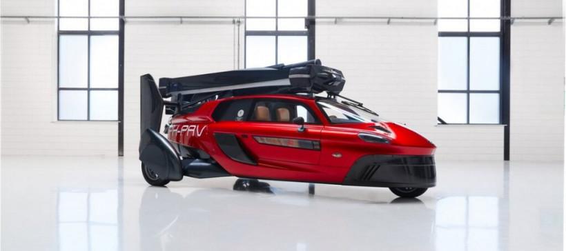 В Европе летающий автомобиль получил разрешение на эксплуатацию: фото чудо-машины