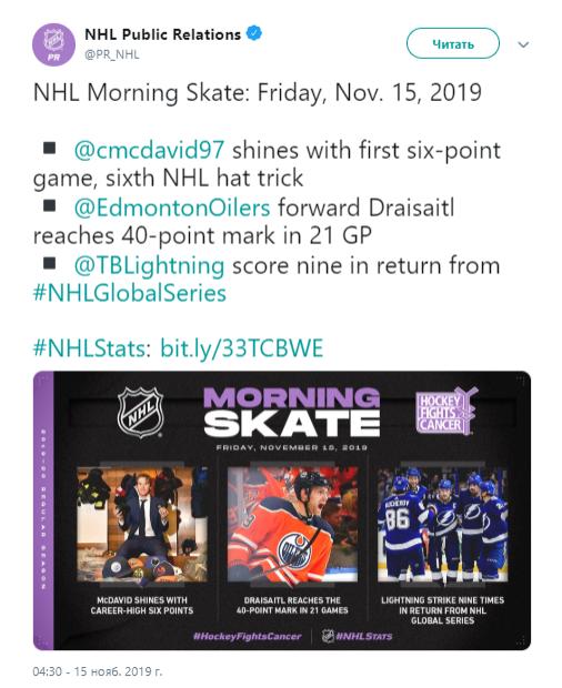 НХЛ: обзор игр 14 ноября (ФОТО, ВИДЕО)