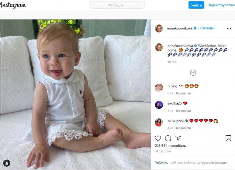 39-летняя Анна Курникова и Иглесиас показали младшую дочь (ФОТО, ВИДЕО)